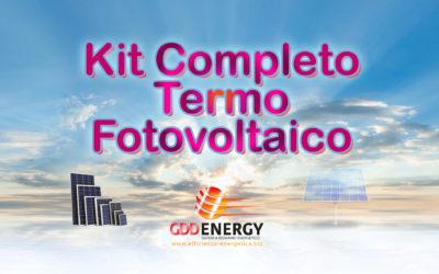 Kit Termo Fotovoltaico